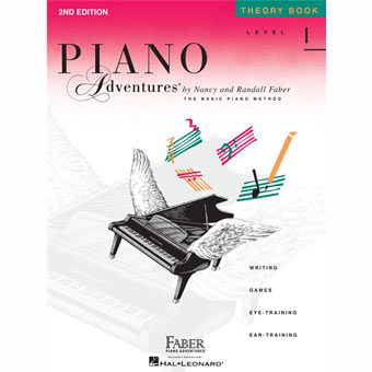 Piano Adventures - Level 1 - Theory Book (2nd Edition)