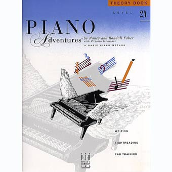 Faber Piano Adventures - Theory Book - Level 2A