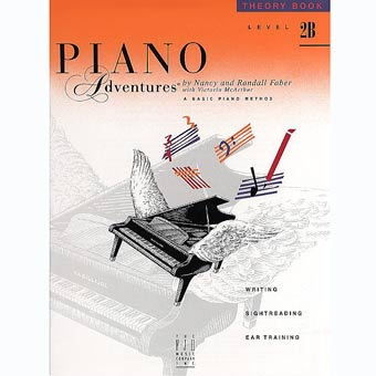 Faber Piano Adventures - Theory Book - Level 2B
