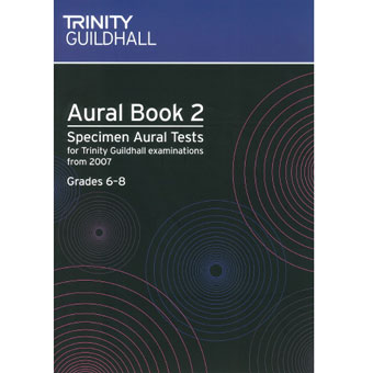 Aural Book 2 Specimen Tests 2007 - Gd 6 - 8 + CD