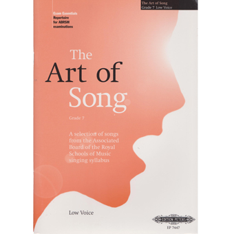 The Art Of Song - Grade 7 - Low Voice
