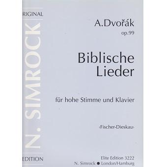Dvorak - Biblical Songs - High Voice | Vocal Music | Other