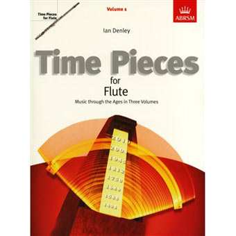 ABRSM Time Pieces For Flute - Volume 1