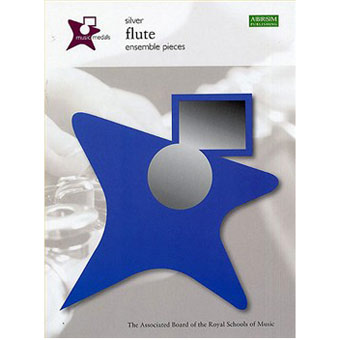 Music Medals - Flute Ensemble Pieces - Silver