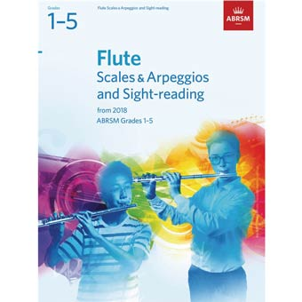 Flute Scales/Arpeggios/Sight Reading 1-5 (From 2018)