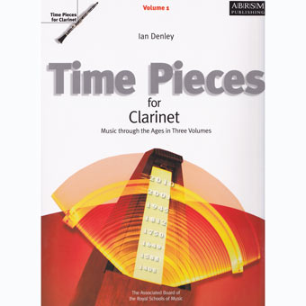 Time Pieces For Clarinet - Volume 1