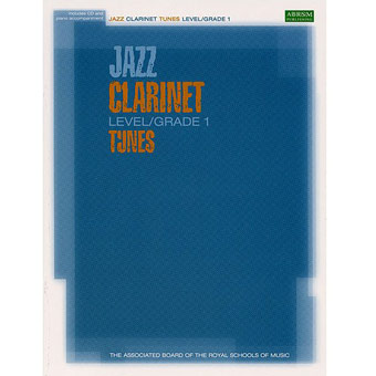 Jazz Clarinet Tunes - Level/Grade 1 - Book & CD