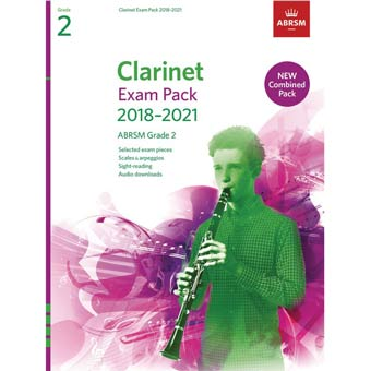 Clarinet Exam Pack - Grade 2 (2018-2021)