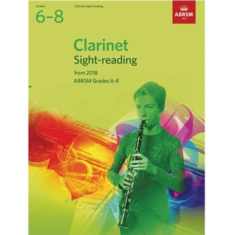 Clarinet Sight-Reading Tests Grades 6-8 2018+