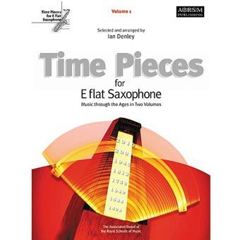 Time Pieces For Alto Saxophone - Volume 1
