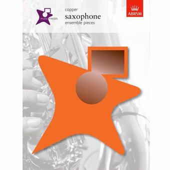 Music Medals Saxophone Ensemble Pieces - Copper