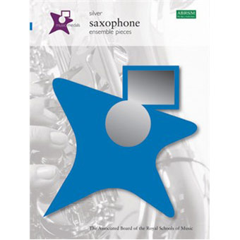 Music Medals Saxophone Ensemble Pieces - Silver