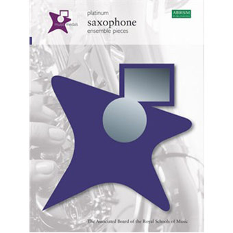 Music Medals Saxophone Ensemble Pieces - Platinum