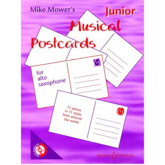 Junior Musical Postcards - Alto Saxophone