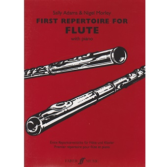 First Repertoire For Flute - Sally Adams
