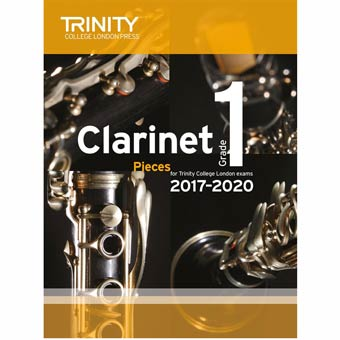 Clarinet Exam Pieces 2017-2020 - Grade 1