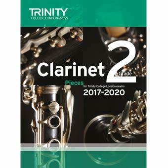 Clarinet Exam Pieces 2017-2020 - Grade 2
