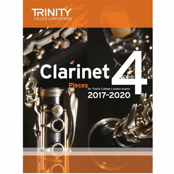 Clarinet Exam Pieces 2017-2020 - Grade 4