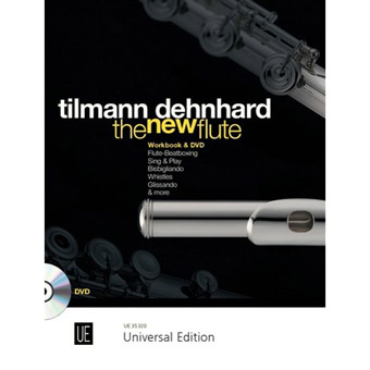 Tilmann Dehnhard - The New Flute For Flute With DVD