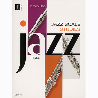 Jazz Scale Studies For Flute - James Rae