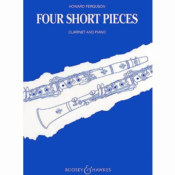 Four Short Pieces For Clarinet And Piano