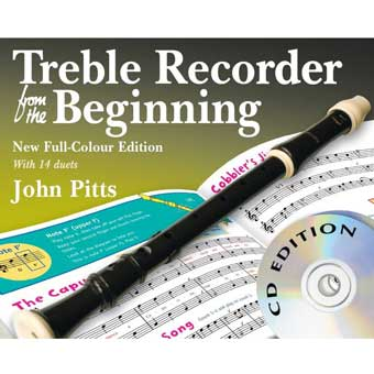 Treble Recorder From The Beginning - Book/CDs