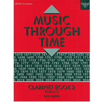 Music Through Time - Clarinet Book 2