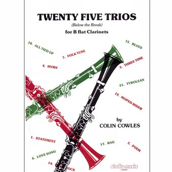 Twenty Five Trios - Bb Clarinets