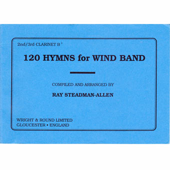 120 Hymns For Wind Band - 2nd & 3rd Bb Clarinet