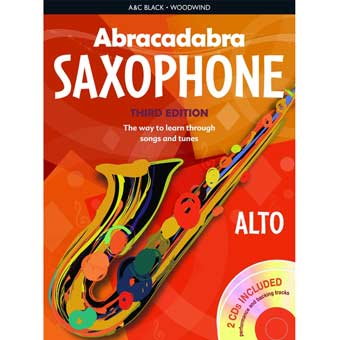 Abracadabra Saxophone - Book & CD