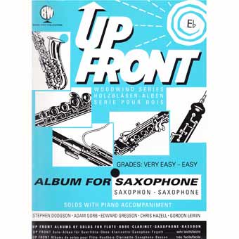 Up Front Album For Alto Saxophone