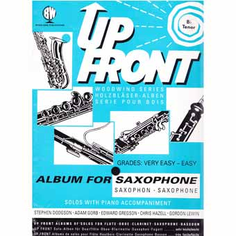 Up Front Album For Tenor Saxophone