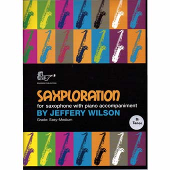 Saxploration - Tenor Sax - Easy Medium