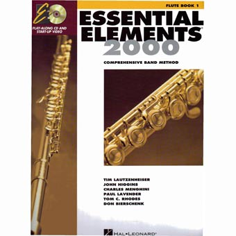 Essential Elements 2000 - Flute - Book 1 + CD