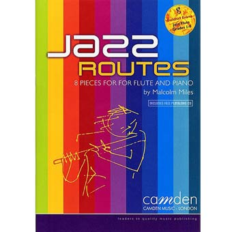 Jazz Routes For Flute - Malcolm Miles