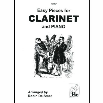 Easy Pieces For Clarinet & Piano