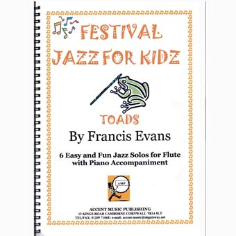 Festival Jazz For Kids - Toads - Flute & Piano