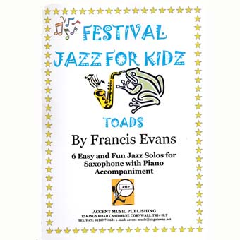 Festival Jazz For Kids - Toads - Saxophone & Piano