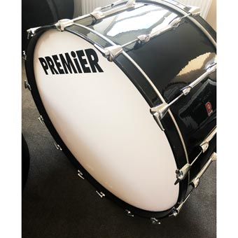 "166 36"" x 16"" Concert Bass Drum + Le Blond Case & Stand"
