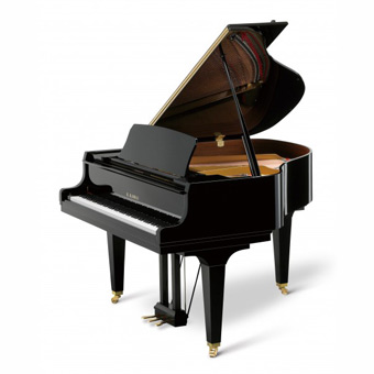 GL-10 Baby Grand Piano - Polished Ebony