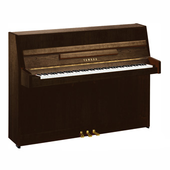 b1 Upright Piano - Open Pore Dark Walnut RRP £3310 NOW £2799