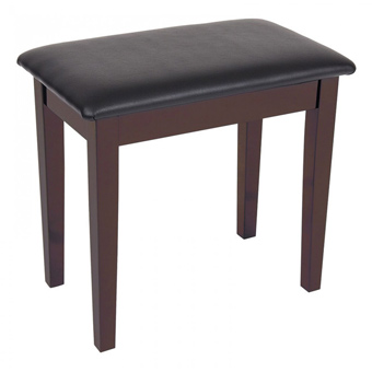 Piano Bench With Storage - Satin Rosewood