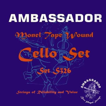 Cello String Set - 4/4