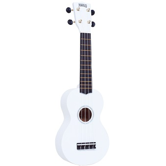 Rainbow Ukulele - White