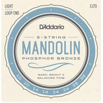 EJ73 Light Mandolin Strings