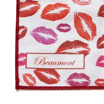 Beaumont Small Polishing Cloth - Bubblegum Kisses