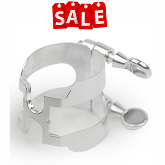 "Grand Concert Select Clarinet ""H"" Ligature - Nickel RRP £47.00 NOW £24.99"