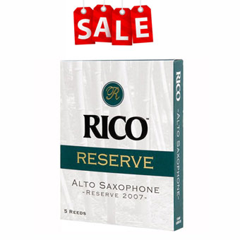 Reserve Alto Sax Reeds Strength 3 Pack Of 5 RRP £15.35 NOW £10.49