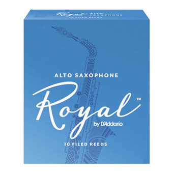 Royal Alto Sax Reed Strength 1.5 Box of 10