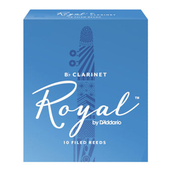 Royal Clarinet Reed Strength 2.5 Box of 10